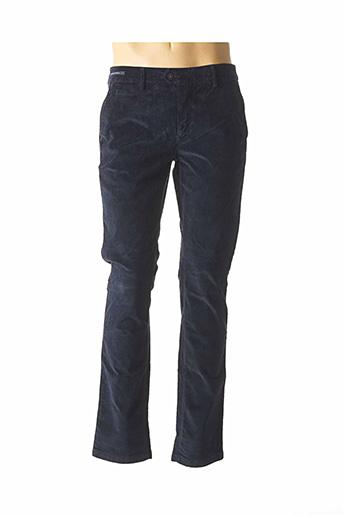 Pantalon casual bleu TELERIA ZED pour homme