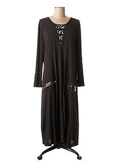Robe longue noir ALAIN MURATI pour femme