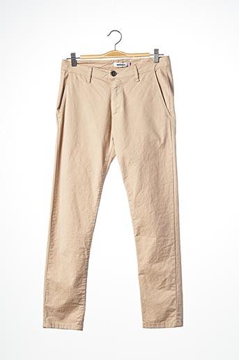 Pantalon casual beige IMPERIAL pour homme