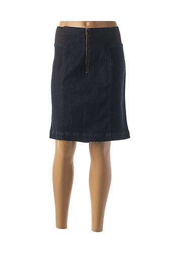 Jupe mi-longue bleu PHILDAR pour femme