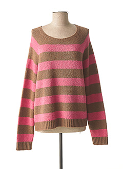 Pull col rond rose WEEKEND MAXMARA pour femme