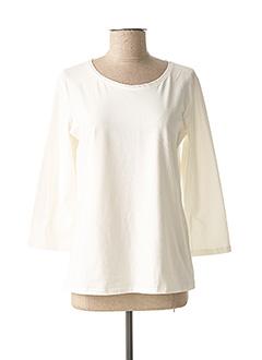 T-shirt manches longues blanc WEEKEND MAXMARA pour femme