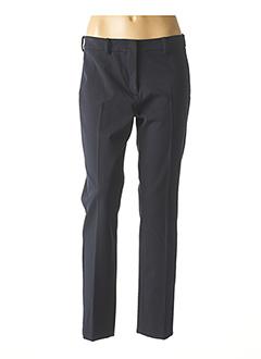 Pantalon casual bleu WEEKEND MAXMARA pour femme