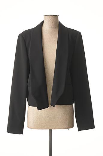 Veste casual noir I BLUES pour femme