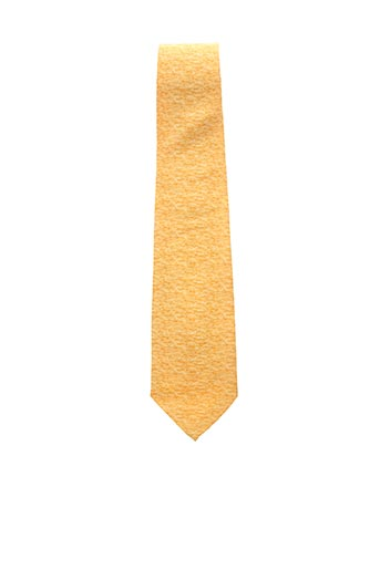 Cravate jaune CHRISTIAN DIOR pour homme
