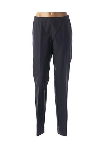 Pantalon 7/8 bleu ELENA MIRO pour femme