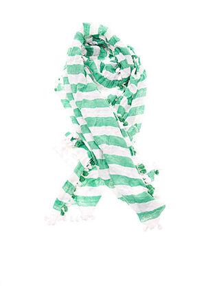 Foulard vert PERSONA pour femme