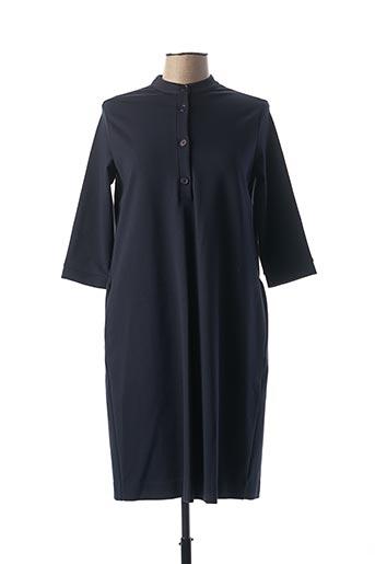 Robe mi-longue bleu ANNA SERAVALLI pour femme