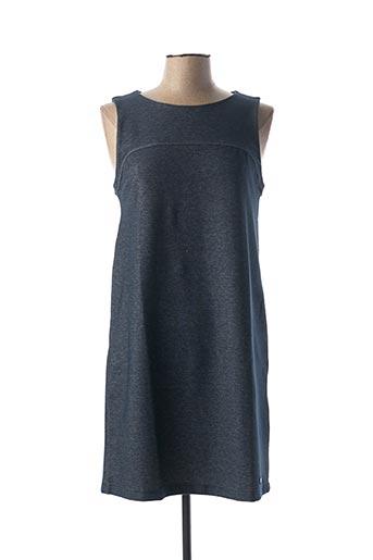 Robe mi-longue bleu BANANA MOON pour femme