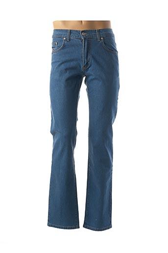Jeans coupe droite bleu CRN-F3 pour homme