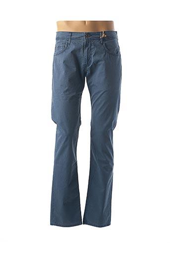 Pantalon casual bleu CAMBE pour homme