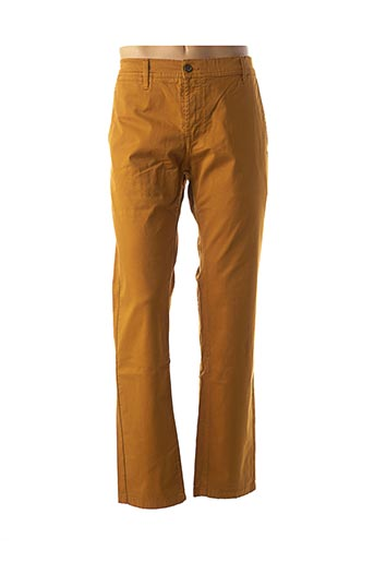 Pantalon casual jaune CAMBE pour homme