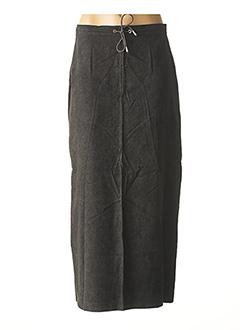 Jupe longue gris CREEKS pour femme