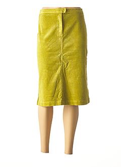 Jupe mi-longue vert CREEKS pour femme