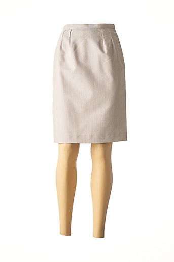 Jupe mi-longue gris ALIZE pour femme