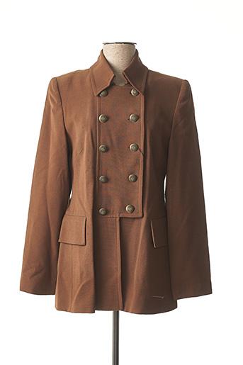 Veste chic / Blazer marron EXALTATION pour femme