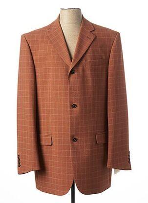 Veste chic / Blazer orange GREIFF pour homme