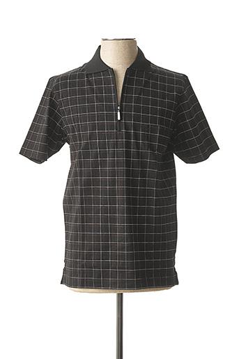 T-shirt manches courtes marron OLYMP pour homme