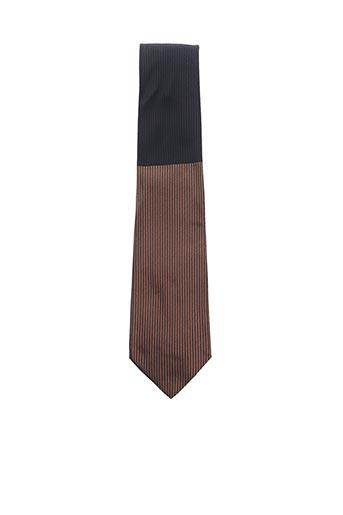 Cravate marron COULEURS DU SUD pour homme