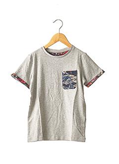 T-shirt manches courtes gris NAME IT pour garçon