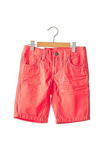 Bermuda rouge NAME IT pour garçon