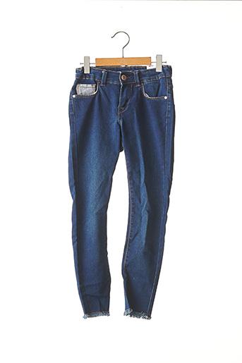 Jeans skinny bleu TIFFOSI pour fille
