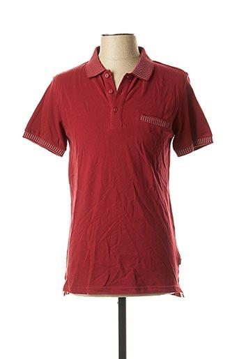 Polo manches courtes rouge TIFFOSI pour homme
