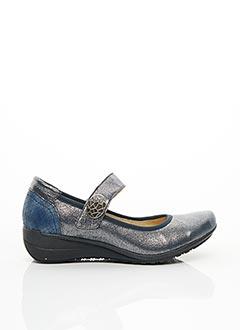 Chaussures de confort bleu GEO-REINO pour femme