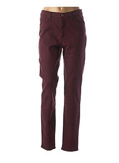 Pantalon casual rouge LCDN pour femme
