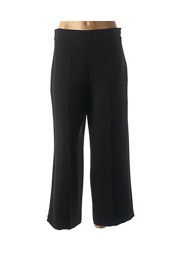 Pantalon chic noir HIPPOCAMPE pour femme