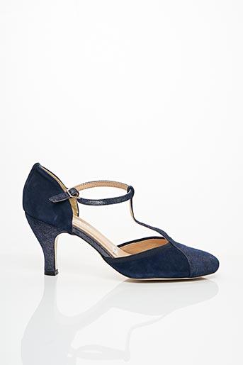 Escarpins bleu ENZA pour femme