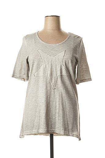 T-shirt manches courtes gris APRICO pour femme