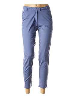 Pantalon 7/8 bleu THALASSA pour femme