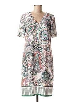 Robe mi-longue vert GERRY WEBER pour femme