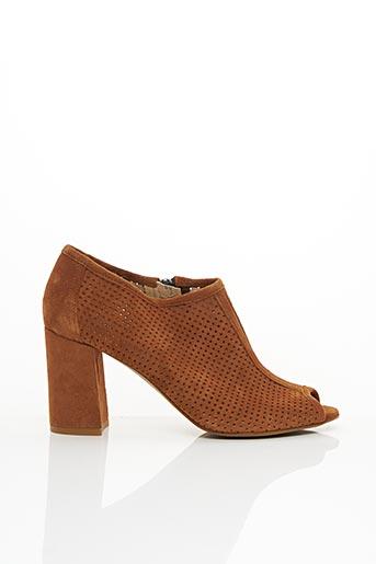 Bottines/Boots marron COR BY ANDY pour femme