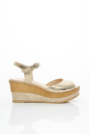 Sandales/Nu pieds beige GADEA pour femme