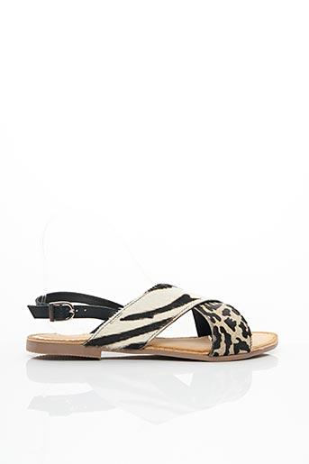 Sandales/Nu pieds beige GIOSEPPO pour femme