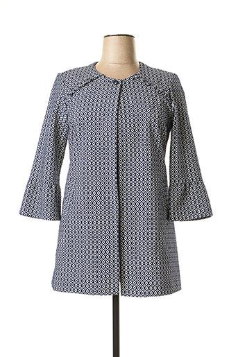 Veste chic / Blazer bleu DIVAS pour femme