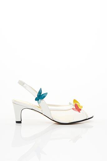Sandales/Nu pieds blanc AZUREE pour femme