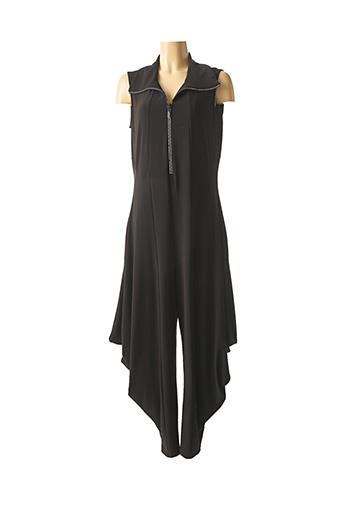 Combi-pantalon noir FRANK LYMAN pour femme
