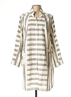 Robe courte blanc ALAIN MURATI pour femme