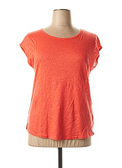 T-shirt manches courtes rouge MADO ET LES AUTRES pour femme