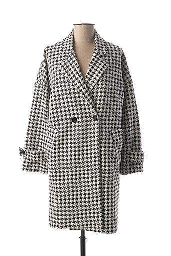 Manteau long noir CLP pour femme