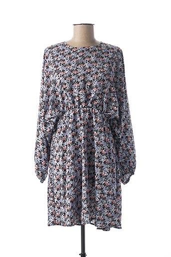 Robe mi-longue bleu CLP pour femme