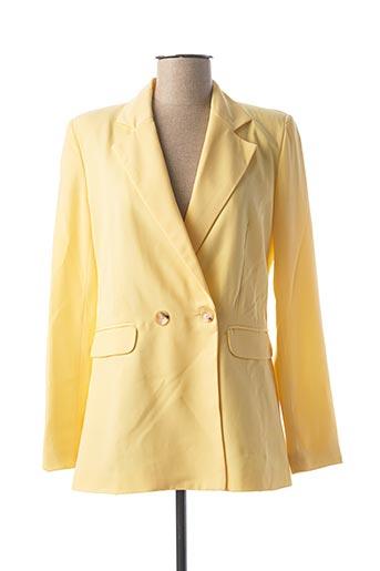 Veste chic / Blazer jaune CLP pour femme