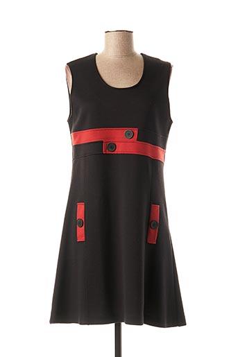 Robe pull noir GRIFFON pour femme