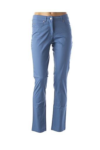 Pantalon casual bleu BRANDTEX pour femme