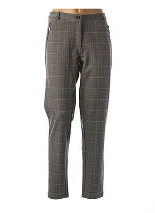 Pantalon casual gris BRANDTEX pour femme