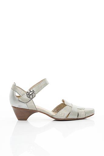 Sandales/Nu pieds gris SWEET pour femme