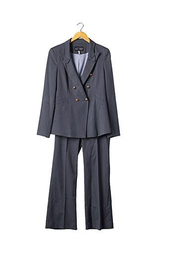 Veste/pantalon bleu ARMANI pour femme